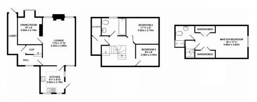Floorplan for Home Farm Court , Putteridge Park