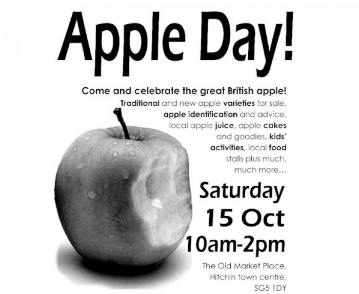 15th Oct: Apple Day, Old Market Place, Hitchin