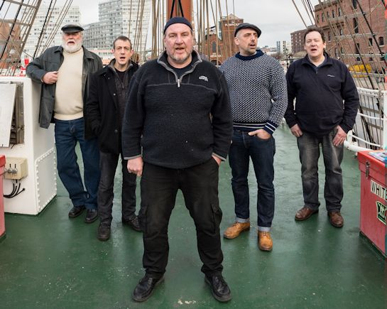 25th Nov: Kimber's Men Sea Shanty Group, Hitchin