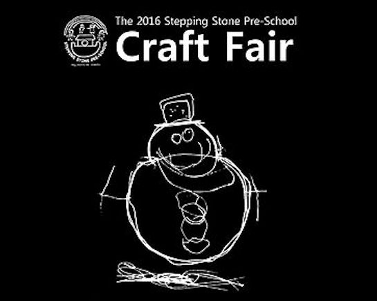 4th Dec: Stepping Stone Pre-School Craft Fair, Knebworth