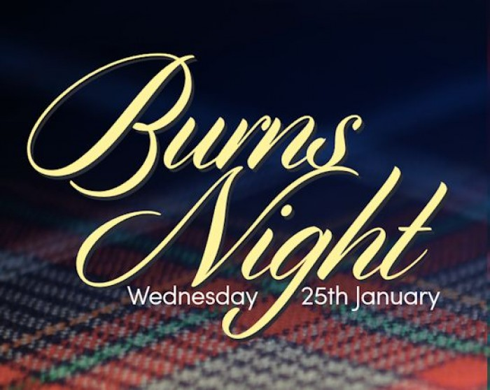25th Jan: Burns Night, Hitchin Town Hall