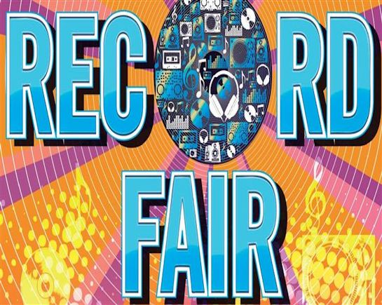 8th April: Record Fair, Harpenden Public Halls