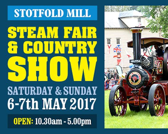 6th & 7th May: Stotfold Steam Fair & Country Show
