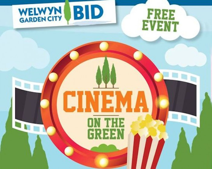 18th Aug: Cinema on the Green, Welwyn Garden City