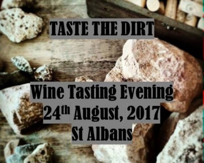 24th Aug: Taste The Dirt - Wine Tasting Evening, St Albans
