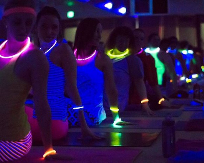 8th Sept: Outdoor Glow-in-the-Dark Yoga, Hitchin Lavender