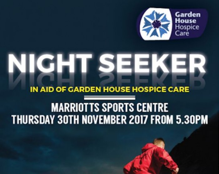 30th Nov: Night Seeker, Marriotts Sports Centre, Stevenage