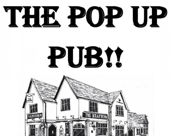 4th Nov: The Pop Up Pub, Knebworth Village Hall
