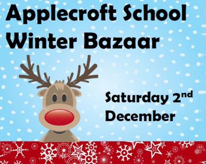 2nd Dec: Applecroft Winter Bazaar, Welwyn Garden City