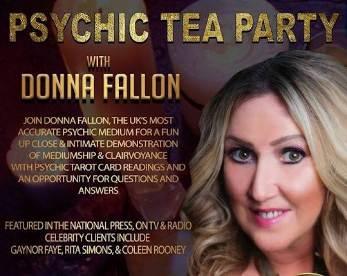 11th March: Psychic Tea Party, Molly's Tea Room, Hitchin