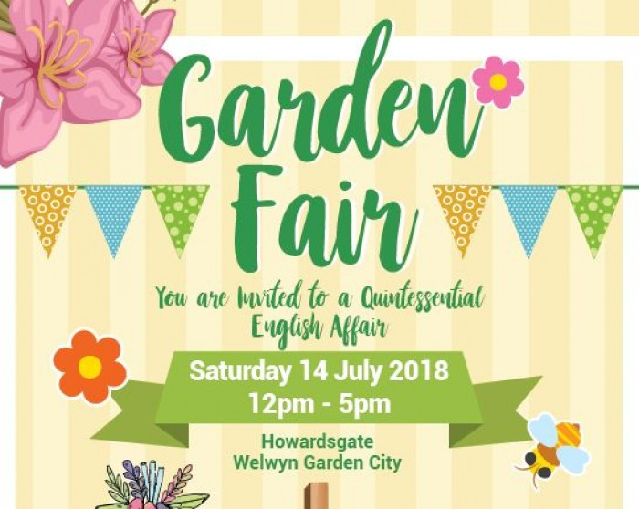 14th July: Garden Fair, Welwyn Garden City