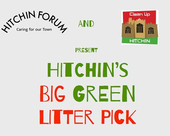 21st Oct: Hitchin's Big Green Litter Pick