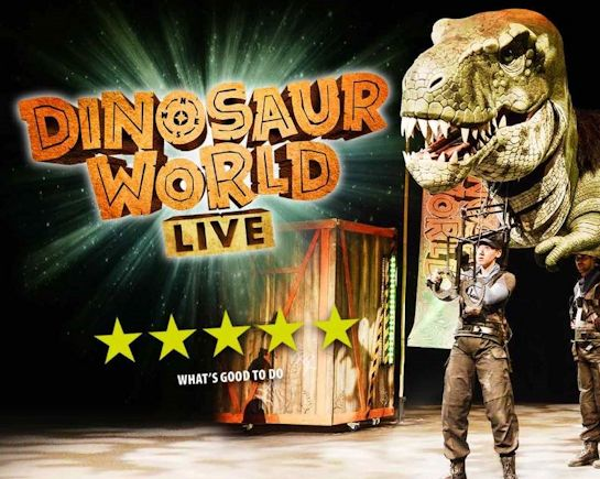 28th-29th Oct: Dinosaur World Live, Letchworth