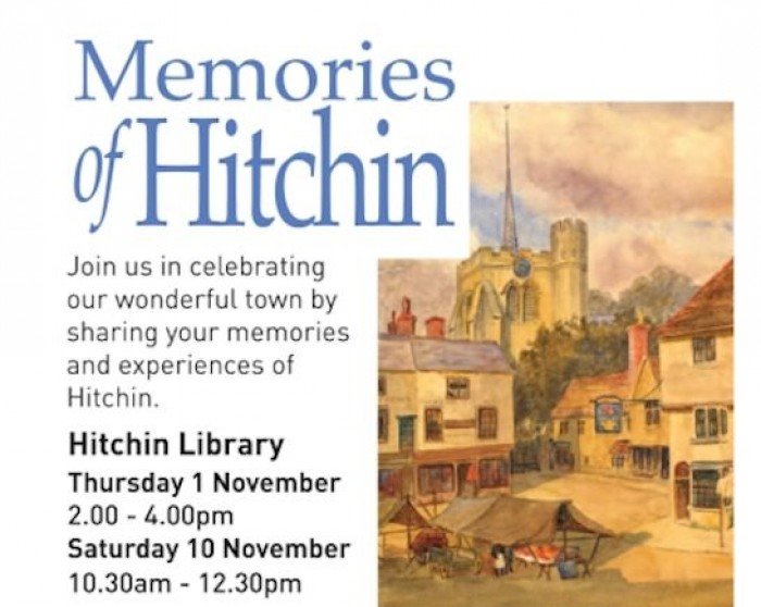 1st & 10th Nov: Memories of Hitchin