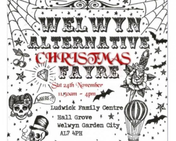 24th Nov: Alternative Christmas Fair, Ludwick Family Centre