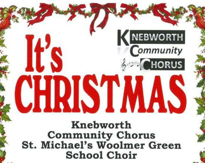 8th Dec: It's Christmas, Knebworth Village Hall