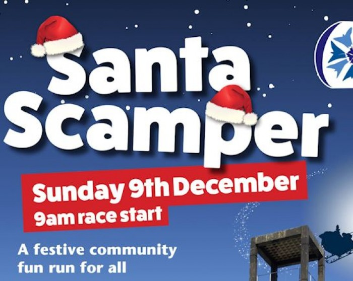 9th Dec: Santa Scamper Fun Run, Stevenage
